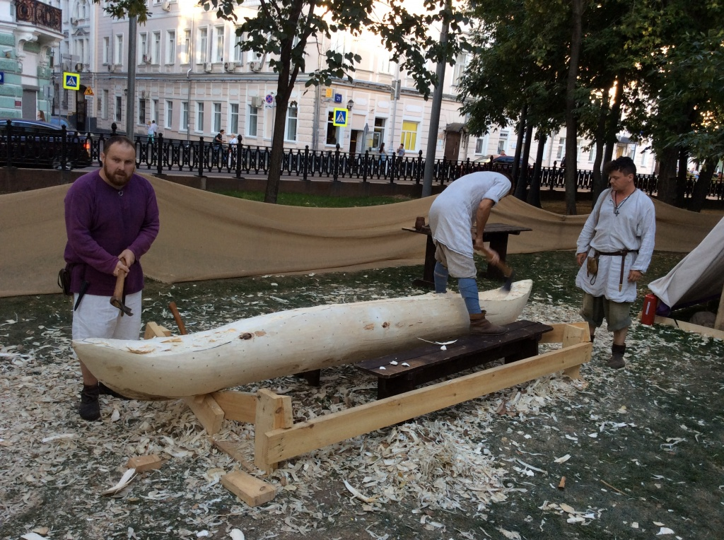 Изготовление деревянной лодки