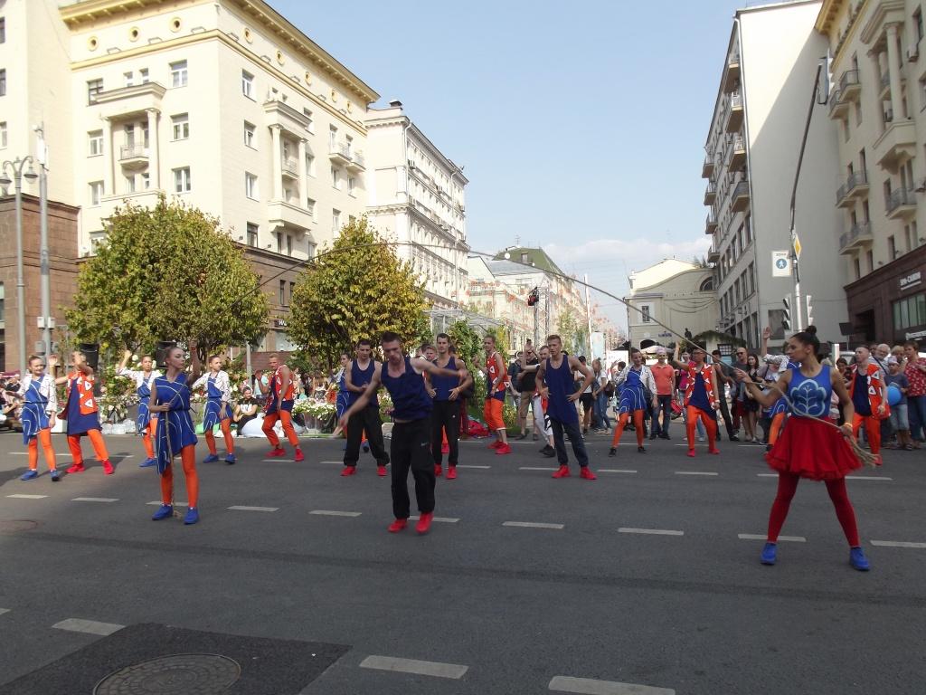 уличные представления